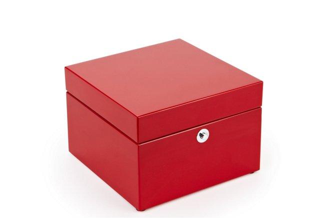 """6"""" Lacquer Accessories Box, Tall"""