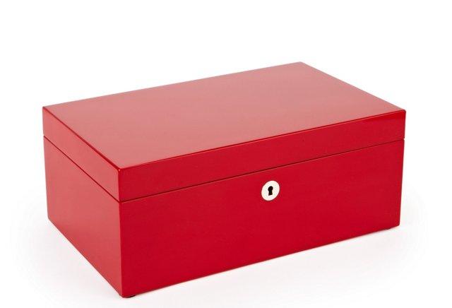 """12"""" Lacquer Accessories Box"""