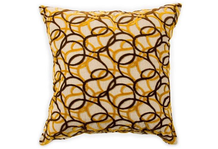 Honey 22x22 Pillow