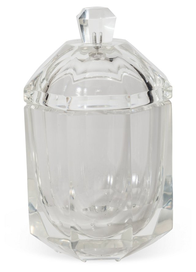 Lucite Candy Jar