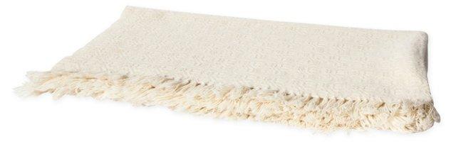 Rosecrans Off-White Blanket, Full