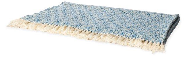 Rosecrans Blue Blanket, Twin