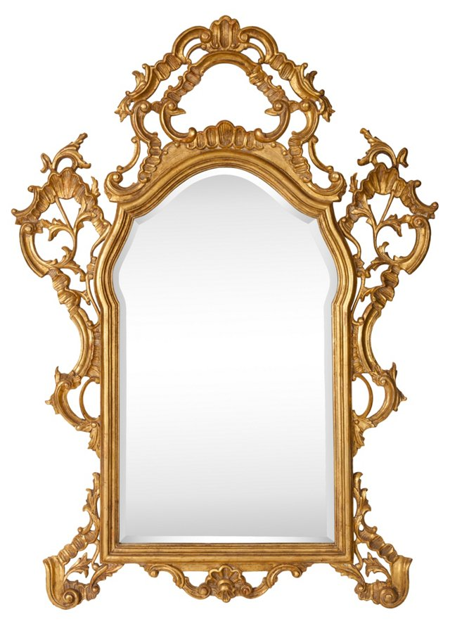 22K Gilded Mirror
