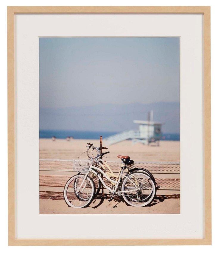 Bikes Resting by Lisa Gizara