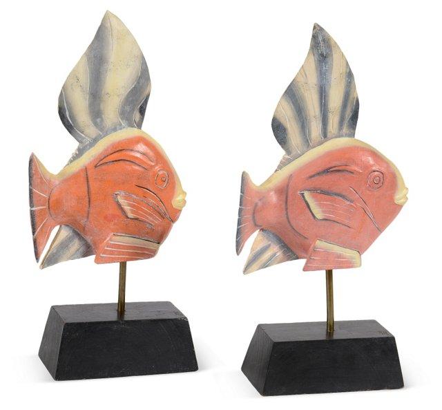 Decorative Fish, Pair