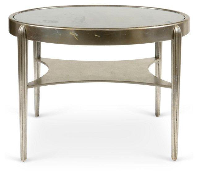 Silver-Leaf Tea Table