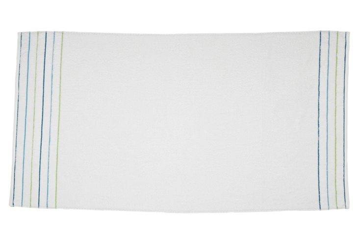 Swizzle Beach Towel, White