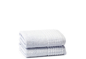 S/2 Ecstasy Hand Towels, Blue