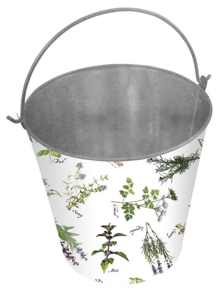 Herb-Print Bucket