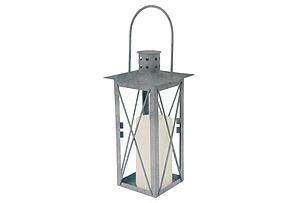 Old Zinc Lantern, Medium