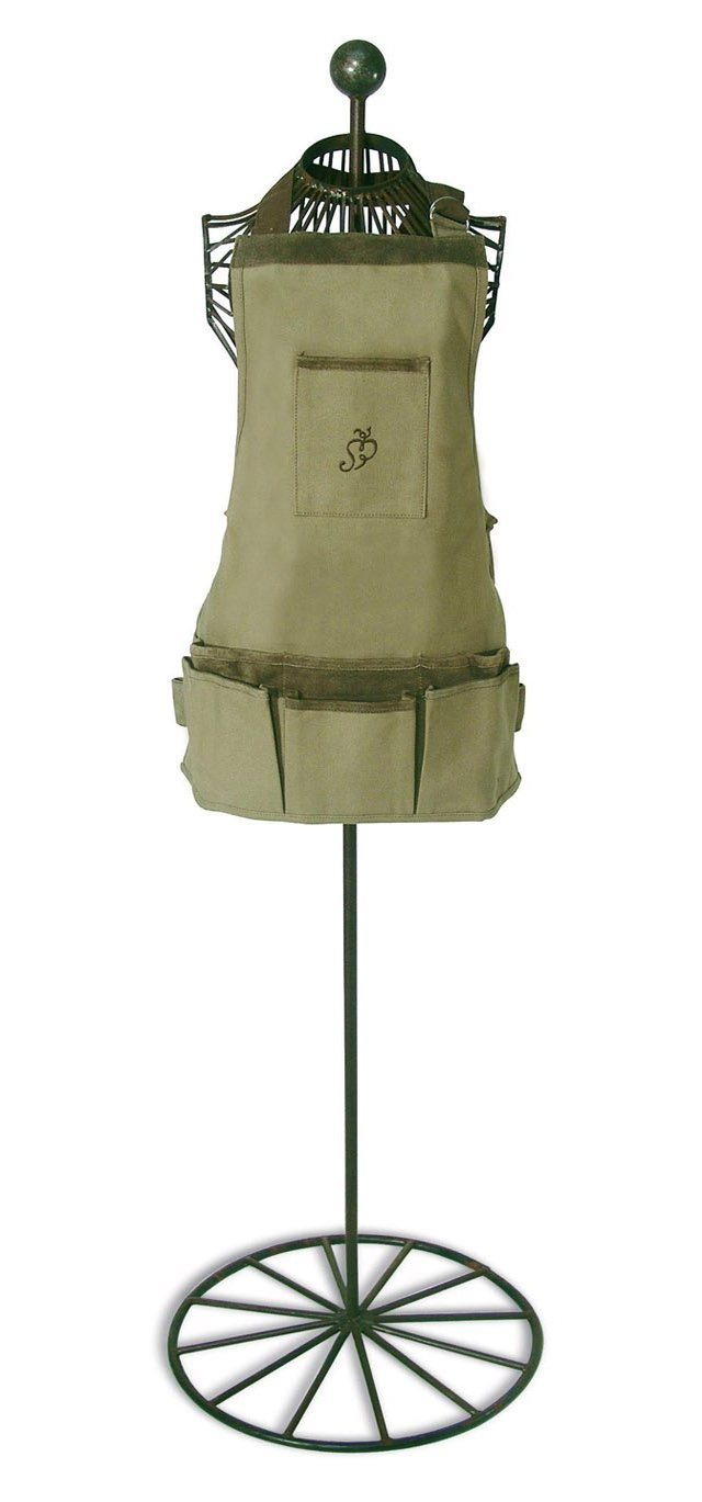 Women's Short Apron, Olive