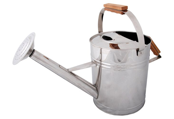 Watering Can, Silver