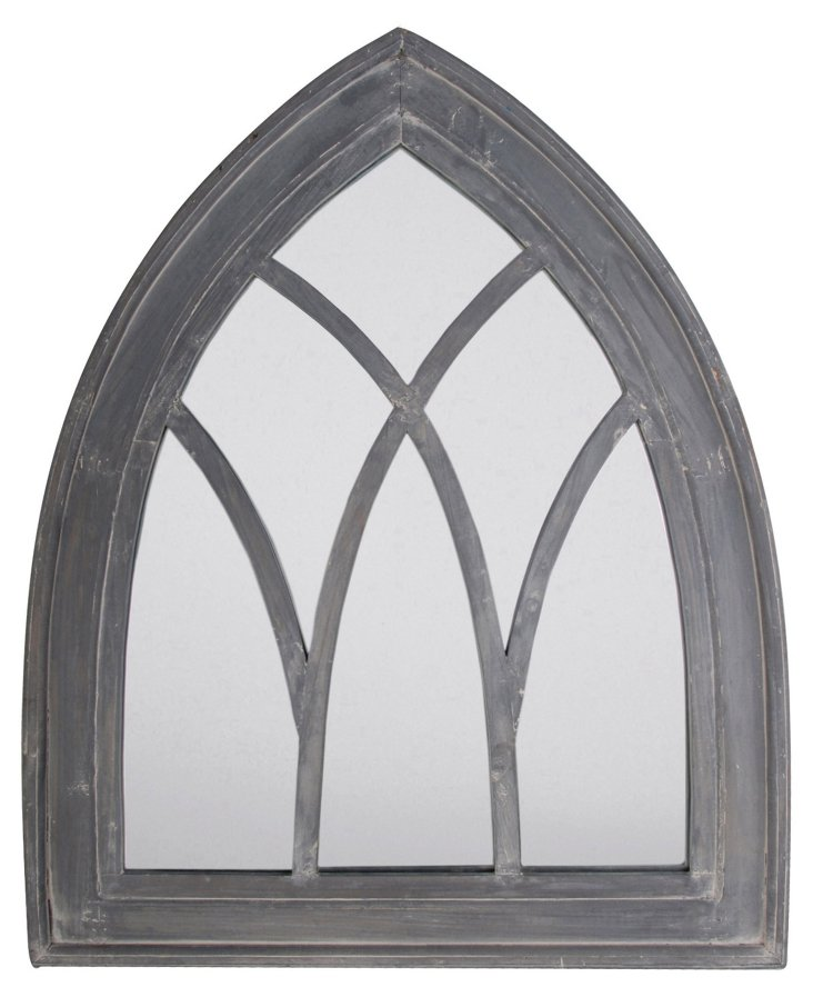 Gray Washed Mirror