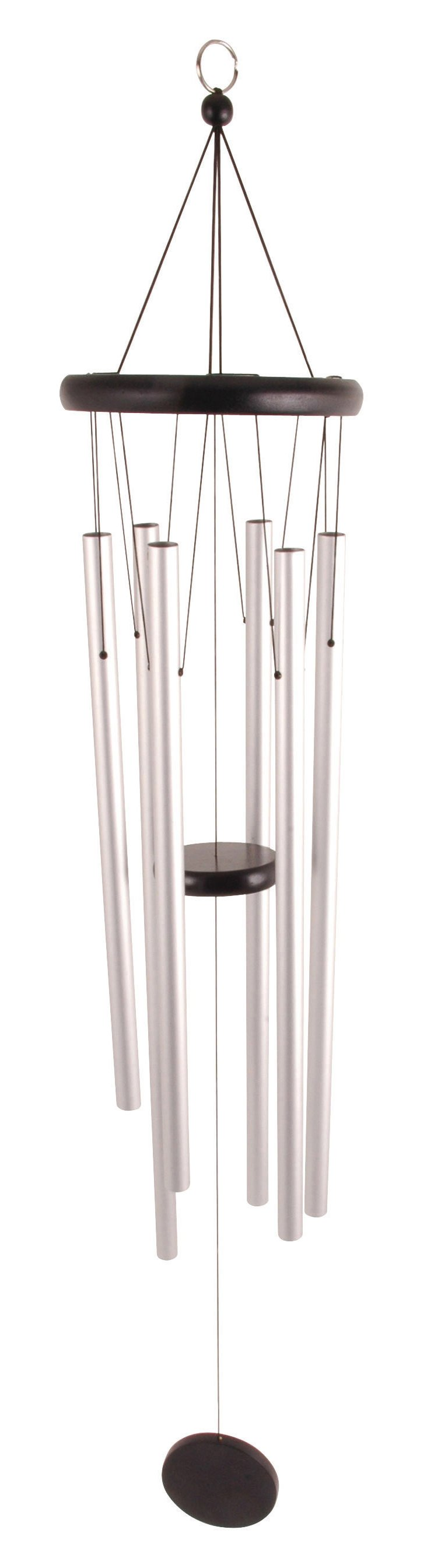 """50"""" Wind Chime, Silver"""