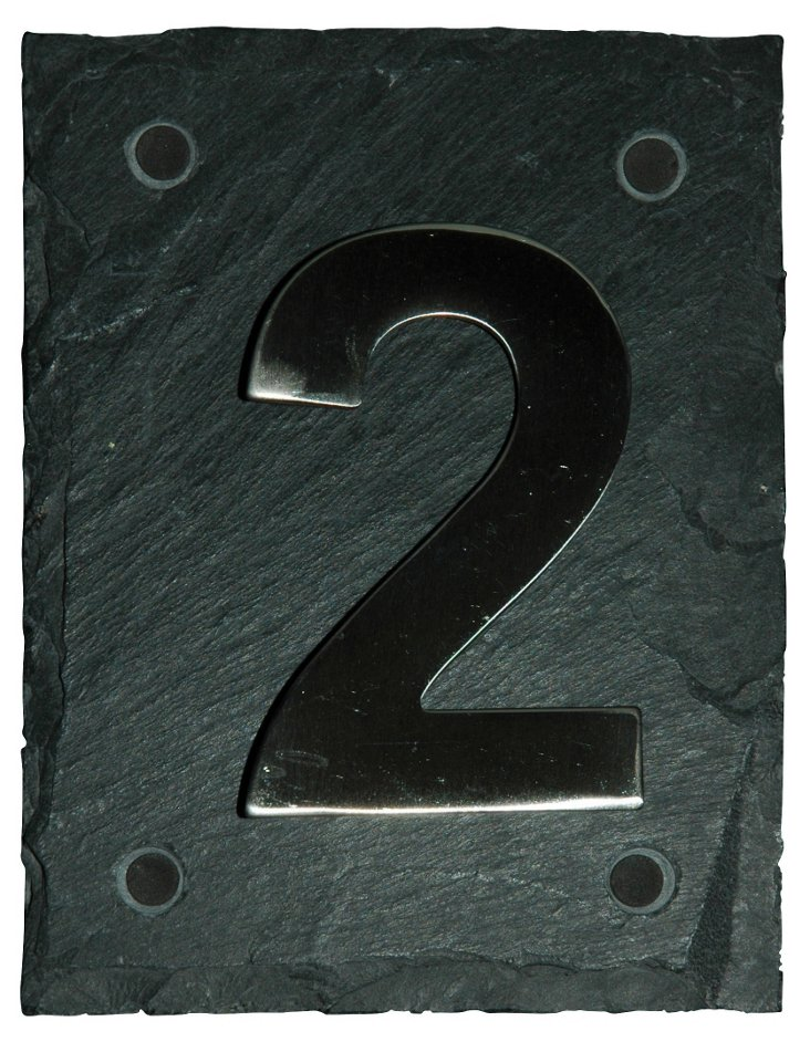 Bold House Number, 2