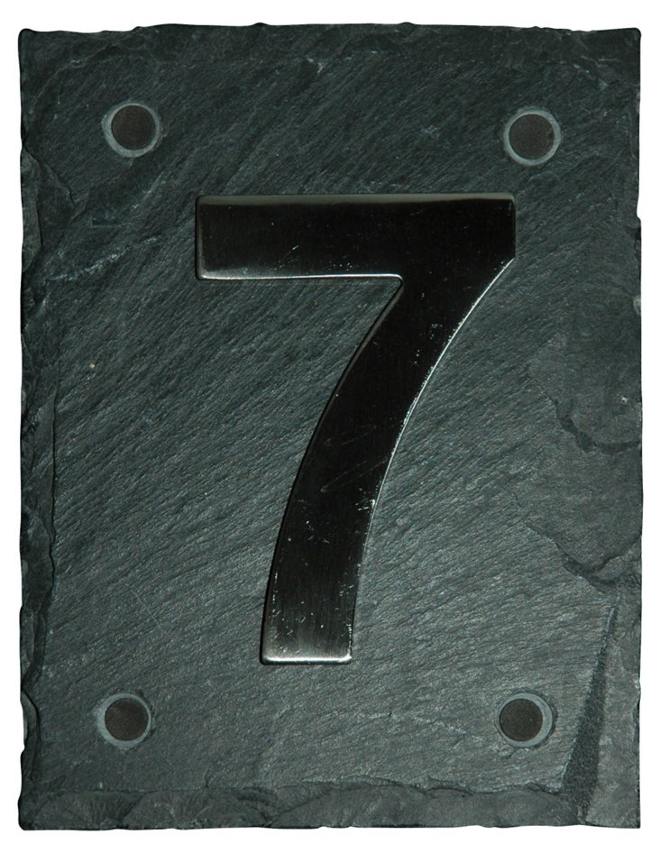 Bold House Number, 7