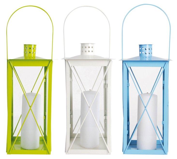 """Asst. of 3 14"""" Garden Lanterns"""