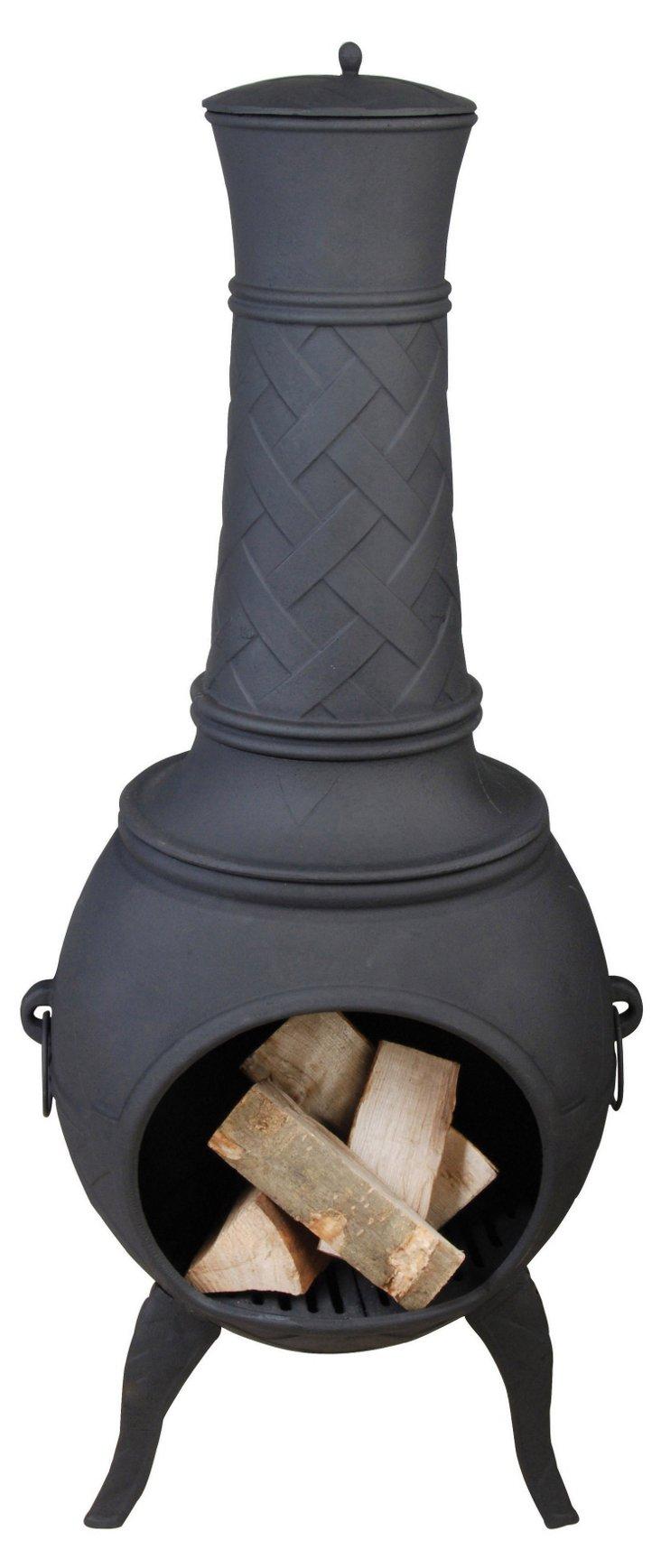 "51"" Terrace Heater, Black"