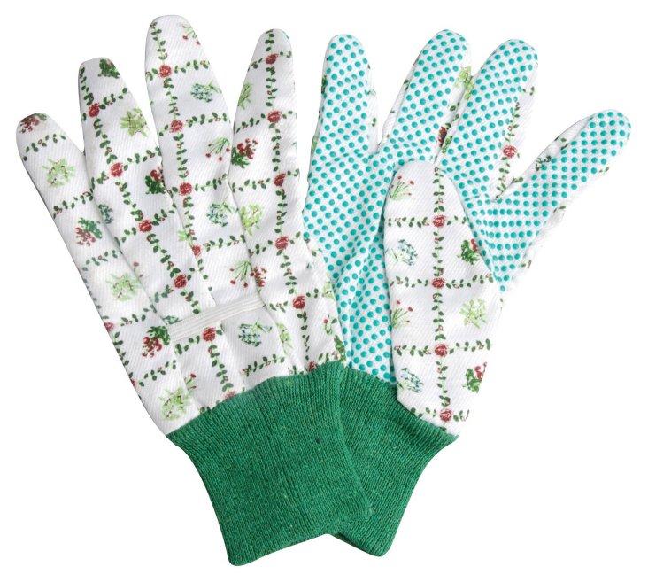 Pair of Botanical Gloves