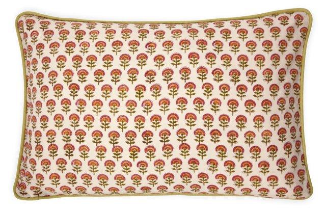 Custom Floral Pillow