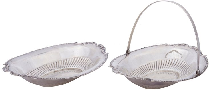 Candy Dishes, Set of 2