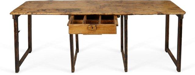 Vintage Spanish Narrow Desk