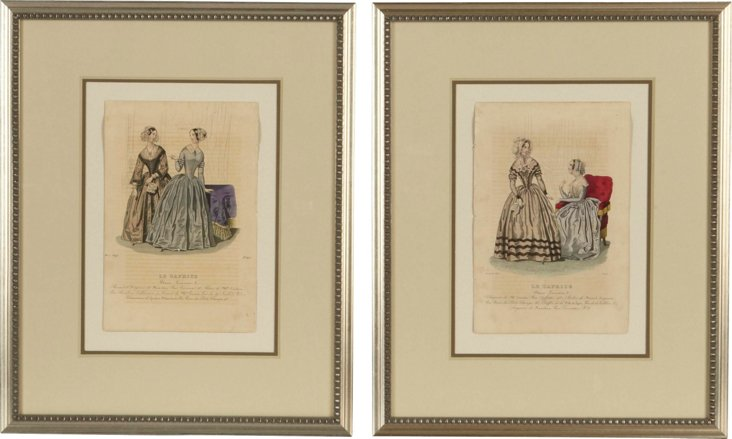 Fashion Prints, Set of 2, III
