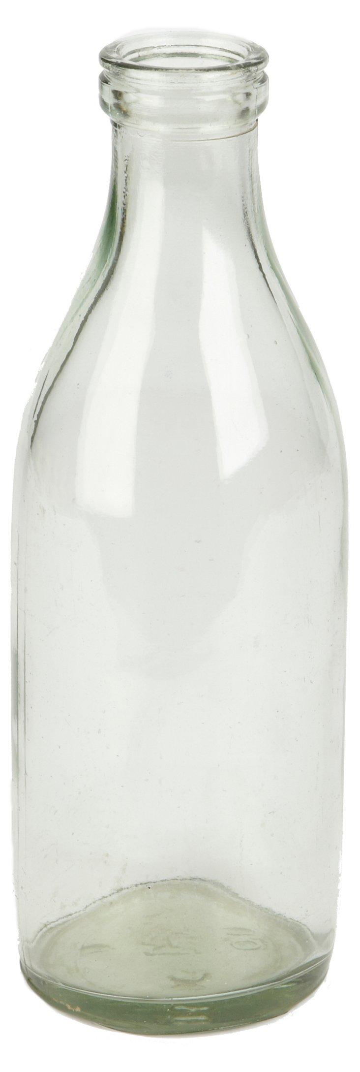 Found Yogurt Bottle