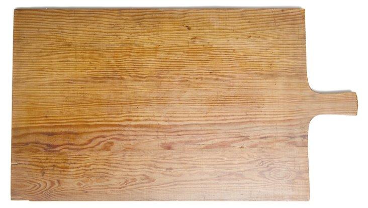 Rectangular European Timber Pizza Board