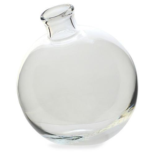 """5"""" Sphere Vase, Clear"""