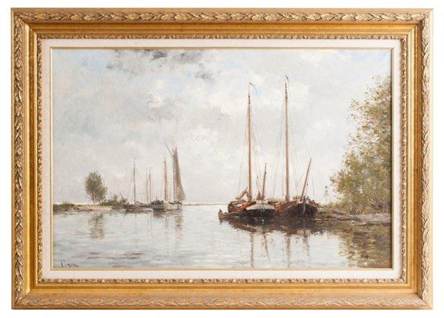 Dutch Harbor Painting