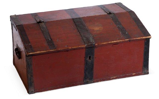 Antique Finnish Document Box