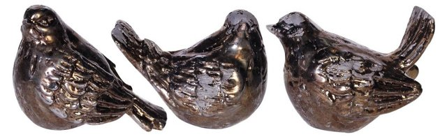 Asst. of 3 Decorative Birds