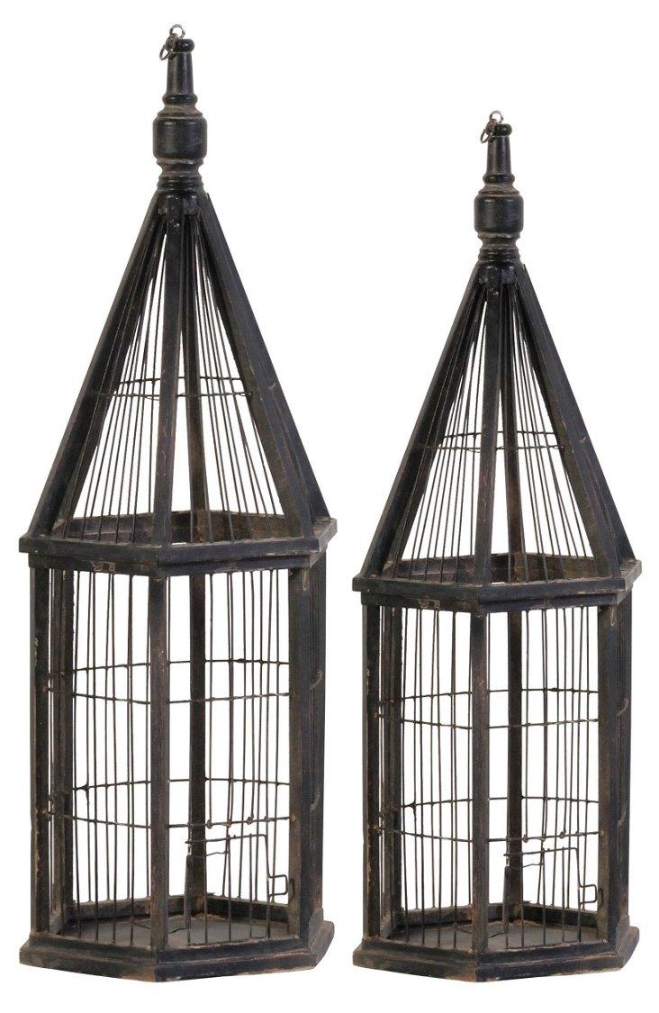 Tall Birdcages, Asst. of 2