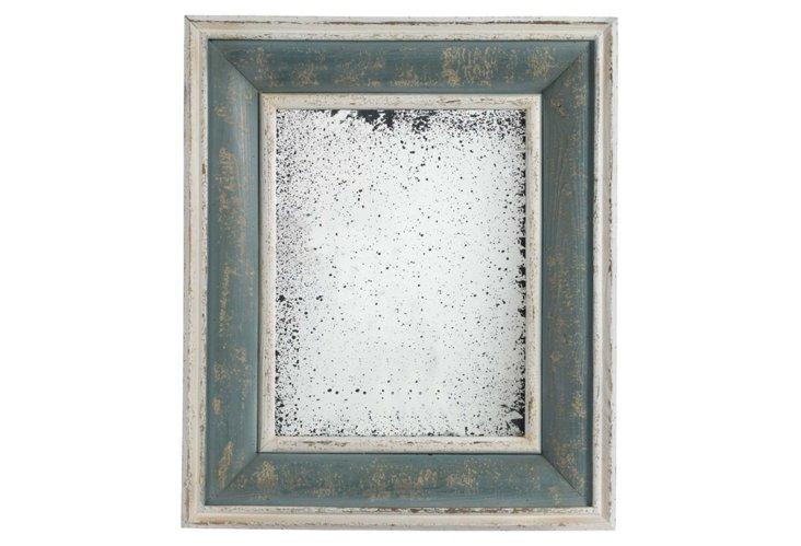 Antiqued Framed Mirror I