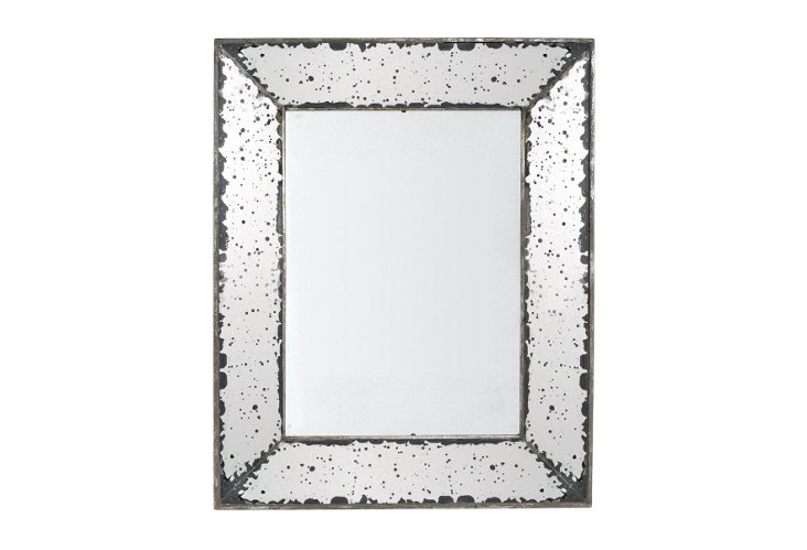 Lucy Mirrored Tray II