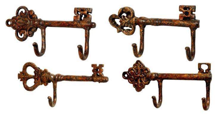 S/4 Jasper Wall Hooks