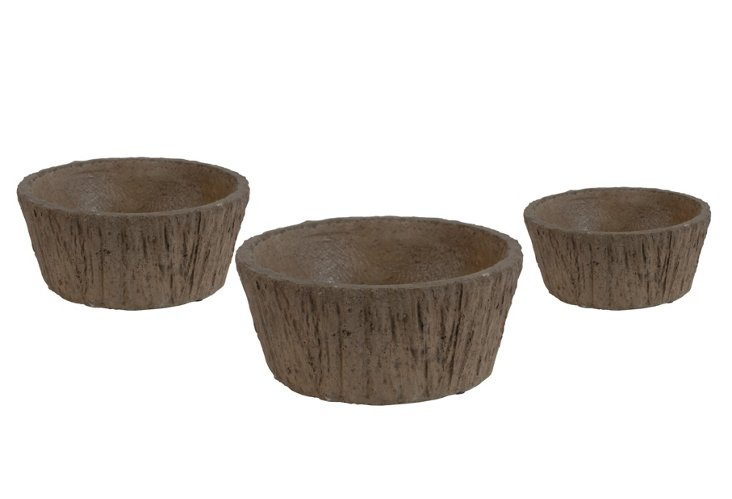 S/3 Forrest Planters