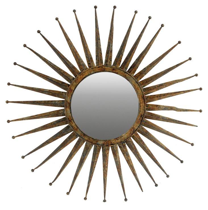 Isla Oversize Mirror, Bronze