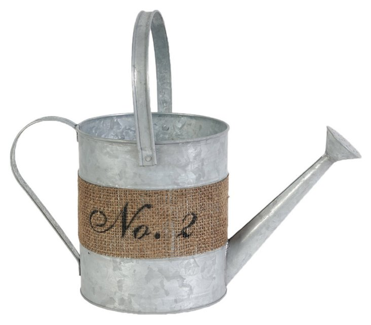Hemp Wrapped Watering Can, No. 2