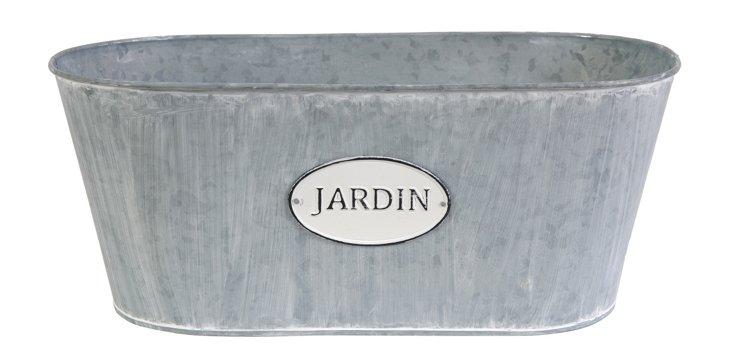 "S/2 10"" Jardin Oval Planters"