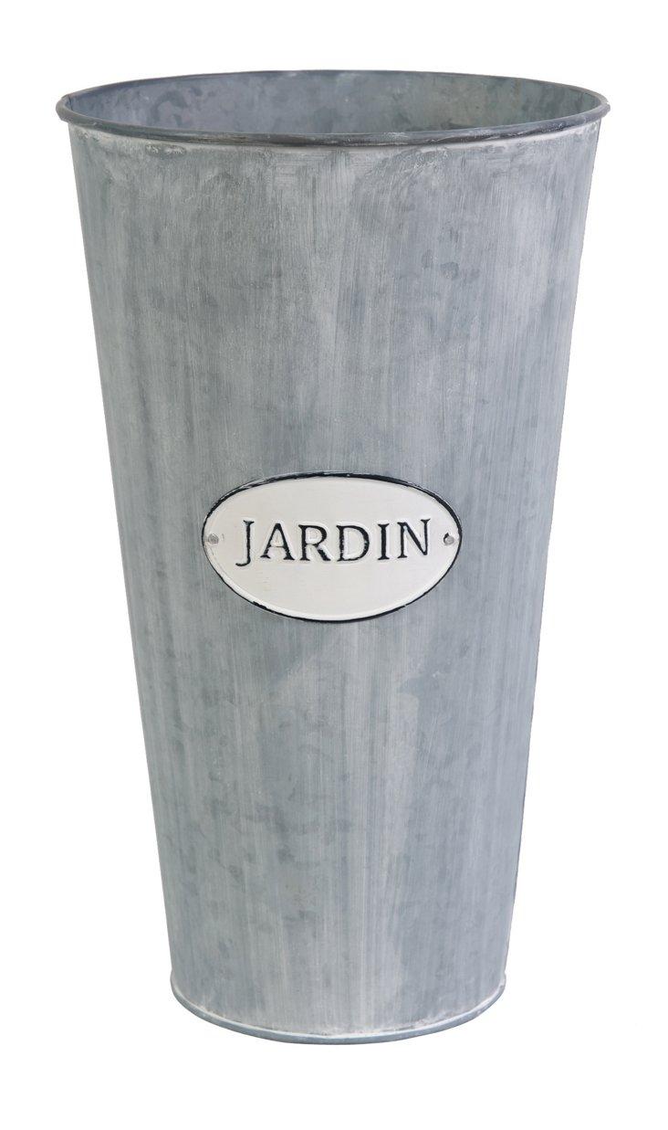 """S/2 9"""" Jardin Tall Planters"""