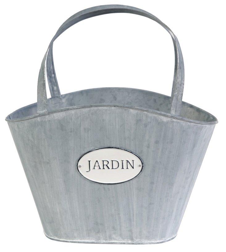 Jardin Planter w/ Metal Handles