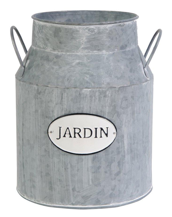 Jardin Milk Can Planter