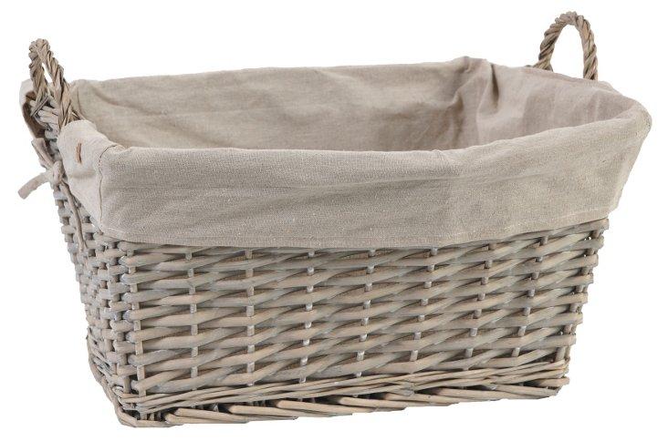 Rectangular Basket, 20x15x13