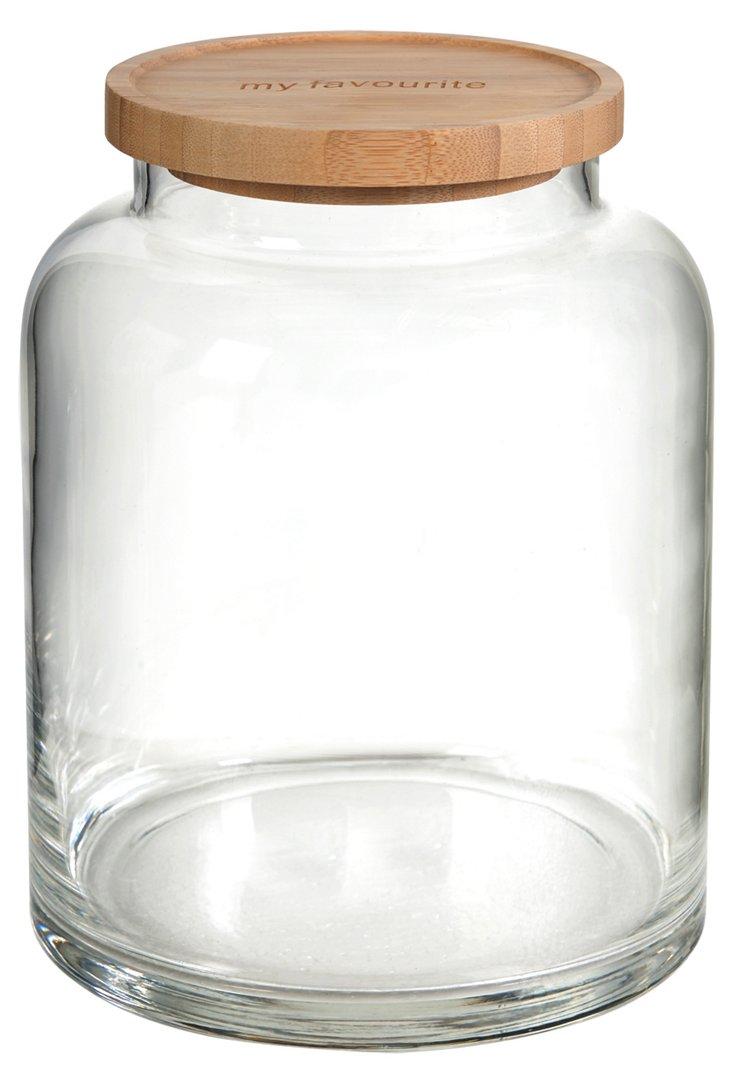 """9"""" Lidded Jar"""