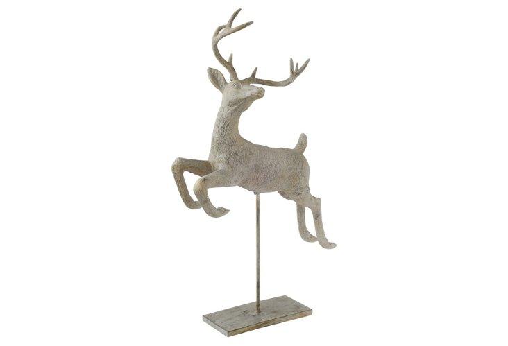 Deer on Pedestal