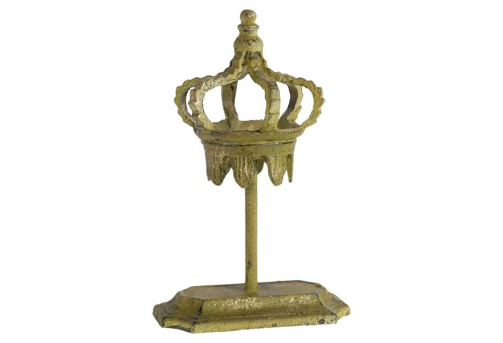 "13"" Royal Crown on Stand"