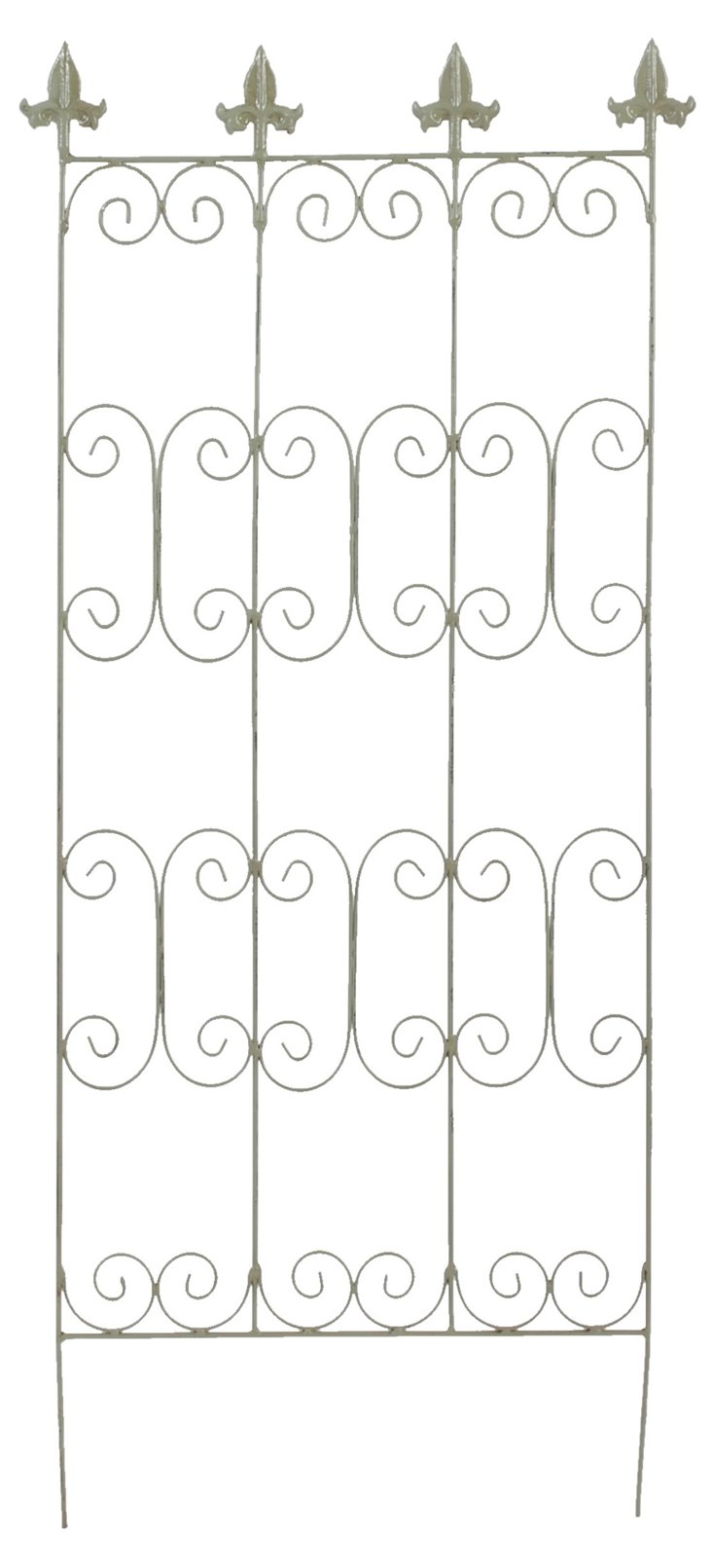 "43"" Metal Trellis, Green"