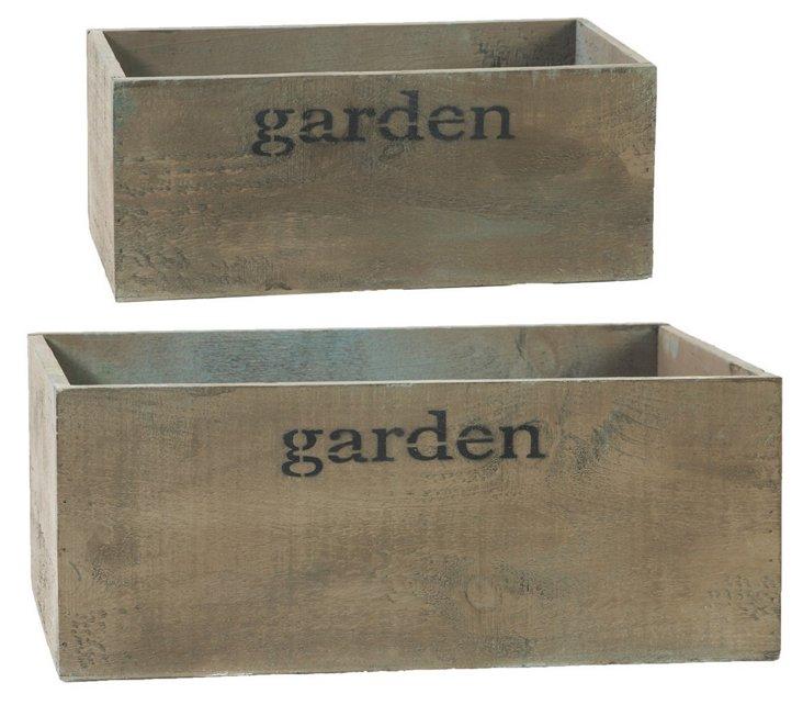 S/2 Garden Boxes